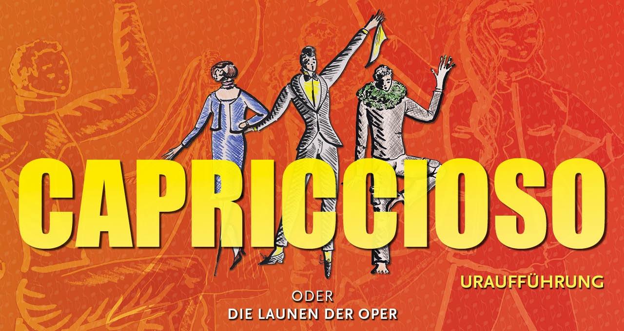 """Jugend macht Oper: CAPRICCIOSO oder """"Die Launen der Oper"""""""