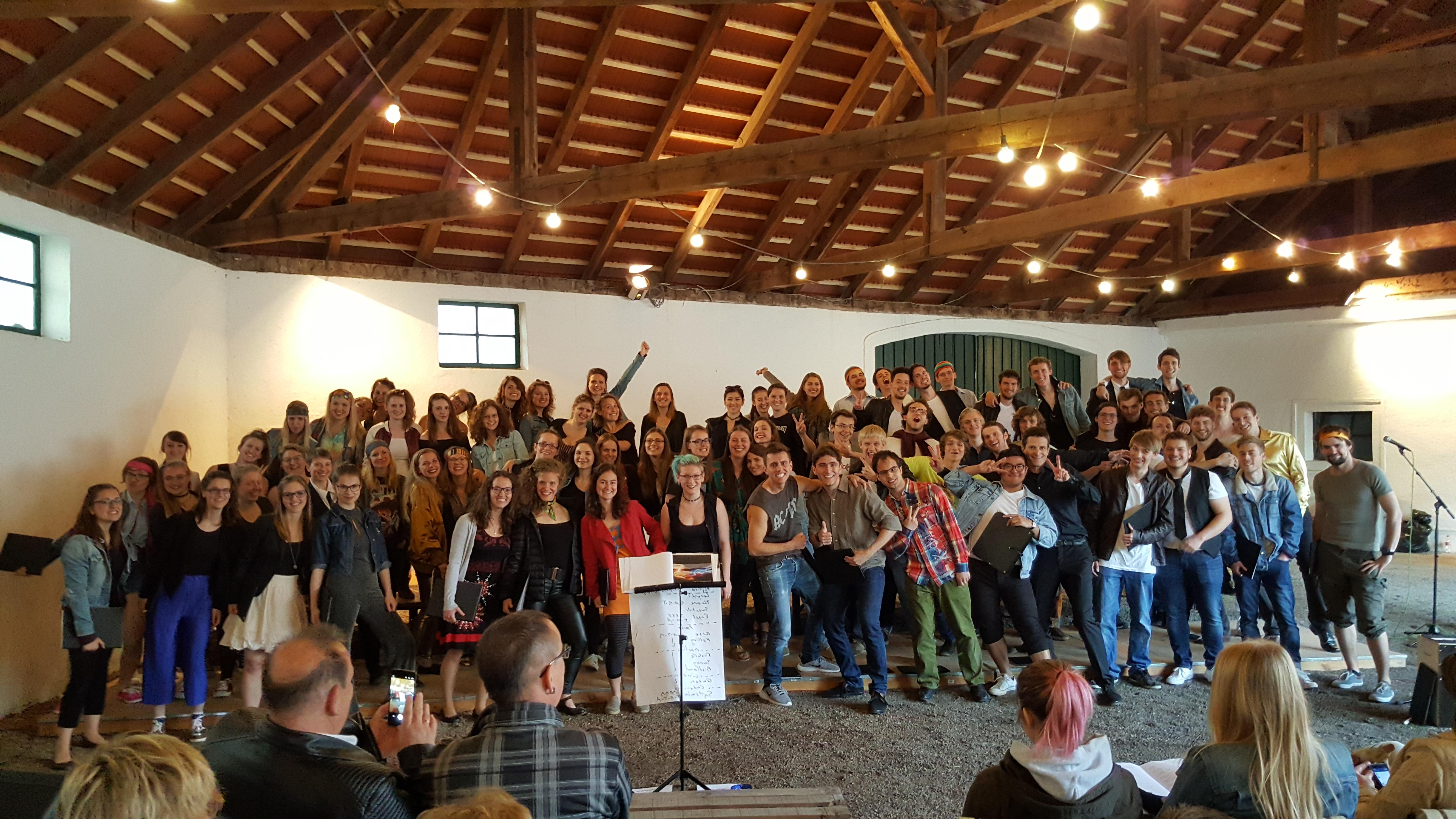 NWS goes Pop - Probenwochenende und Konzert im Burgenland