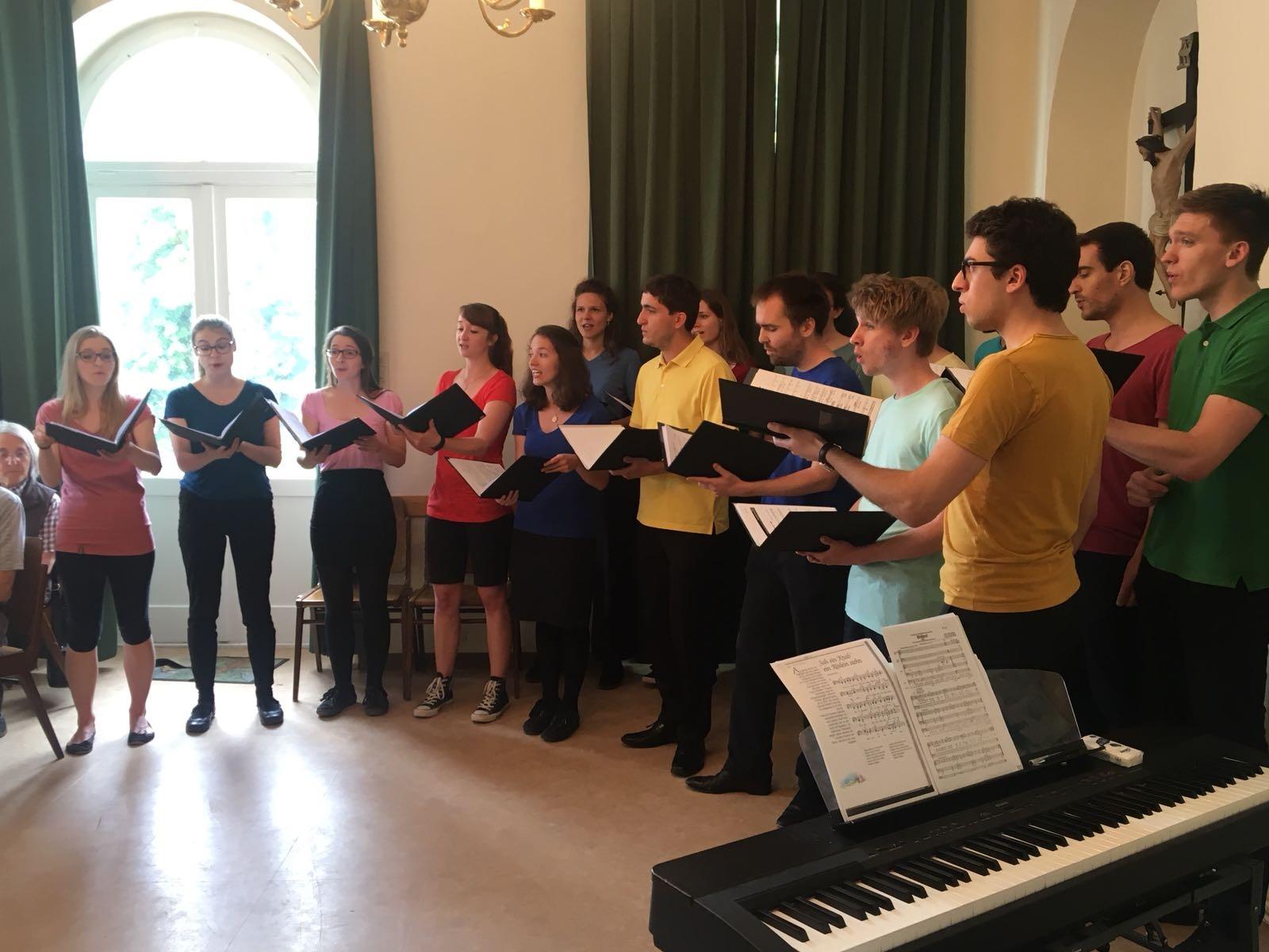 Offenes Singen im Generationencafé Weidling